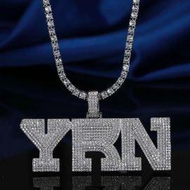 ホワイトゴールド YRN ペンダント