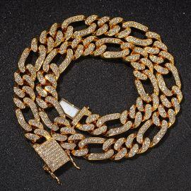 13mmフィガロキューバン ネックレス