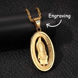 グアダルーペの聖母 ペンダント