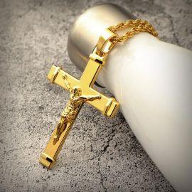 ゴールド イエス クロス ペンダント