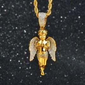 祈る天使 ペンダント