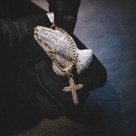 ゴールド使徒のハンドペンダント