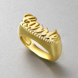 パーソナライズ 指輪