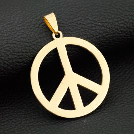 反戦平和 サイン ペンダント