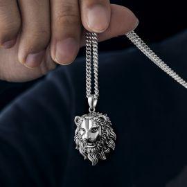 ステンレススチール ライオン ペンダント