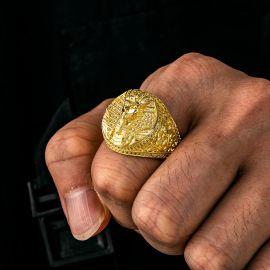ゴールド エジプト ファラオ リング