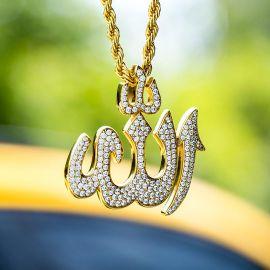 イスラム教徒 アッラー ペンダント
