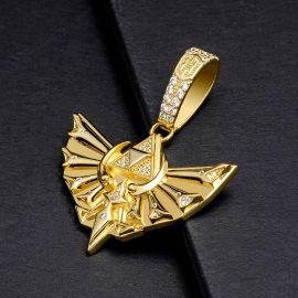 三角形 神聖 鷹 ペンダント