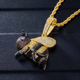 ゴールド ミツバチ ペンダント