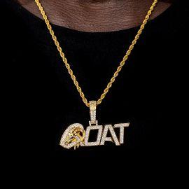ゴールド GOAT 羊 ペンダント