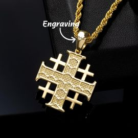 エルサレム 十字 ペンダント