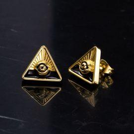 神の目 三角形 ピアス