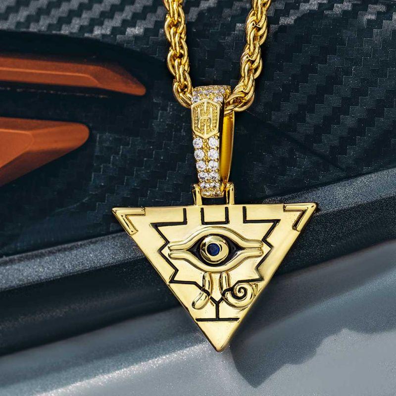 エジプト ピラミッド ホルスの目 ペンダント