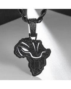 ブラックゴールド アフリカン ブラックパンサー マップ